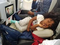 Trawel Advice Survive flights with kids by making it easier for them to sleep on planes. Easily turn your child's airplane seat into a bed with Fly LegsUp. Traveling With Baby, Travel With Kids, Traveling By Yourself, Family Travel, Baby Travel, Toddler Travel Bed, Travel Essentials, Travel Tips, Travel Hacks