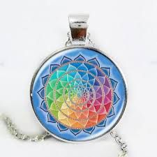 Image result for rainbow flower necklace