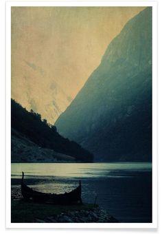 Adventure Awaits en Affiche premium par Ingrid Beddoes | JUNIQE