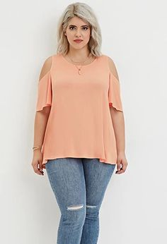 This is an out fit that I think looks better on a plus size than a skinny.  It's cute.