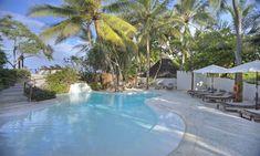 Bottom pool at Matemwe Lodge, Zanzibar