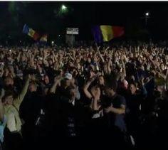 Видео. Невероятная атмосфера на Майдане в Молдове 07.09.15