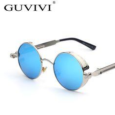 $5.73 (Buy here: https://alitems.com/g/1e8d114494ebda23ff8b16525dc3e8/?i=5&ulp=https%3A%2F%2Fwww.aliexpress.com%2Fitem%2F2016-GUVIVI-Gothic-Sunglasses-Men-Steampunk-Round-Metal-Frame-Sun-Glasses-Pink-Mirror-Eyewear-Brand-Designer%2F32747051554.html ) 2016 GUVIVI Gothic Steampunk Sunglasses Men Round Metal Frame Sun Glasses Mirror Eyewear Brand Designer Oculos de sol masculino for just $5.73