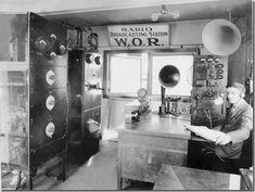 1927 radio studio