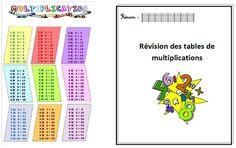 carnet de révisions des tables de multiplication  exactement ce que je cherchais !!