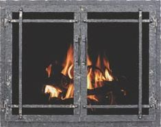 11 Rustic Fireplace Doors Rustic Fireplace Doors - This 11 Rustic Fireplace Doors wallpapers was upload on December, 22 2019 by Kole Rempel. Here latest Rustic Fireplace Doors . Rustic Fireplace Screens, Fireplace Glass Doors, Custom Fireplace, Rustic Fireplaces, Wood Fireplace, Fireplace Ideas, Rustic Entry, Rustic Bench, Rustic Doors