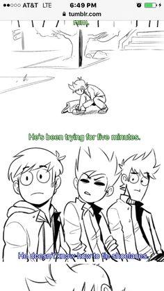 2/3 EddsWorld Comic      (Damn he noob)
