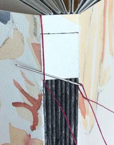 buttonhole stitch tutorial by MIchele Olsen