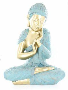 Napping Buddha Silver Statue Good Luck Oriental Asian Statue Sculpture Table Art Decor D16113 Table Art Decor,http://www.amazon.com/dp/B00DGIBJ58/ref=cm_sw_r_pi_dp_pt5btb0T66PSJ75T