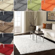 Protect your floors and add style to any room with the shaggy NuLOOM My Soft and Plush rug. It comes in a variety of colors to coordinate easily with nearly any room decor, and the thick pile will add comfort and keep your feet warm on cool mornings.
