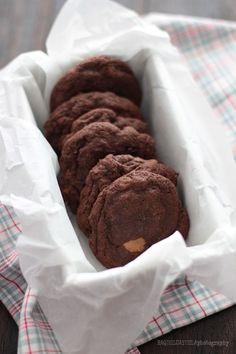 Galletas de Chocolate con Mantequilla de Cacahuete y Nutella