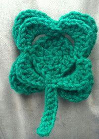 The Hookeraholic Crochet: St. Patty's Day Shamrock