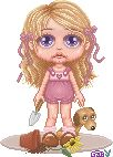 Lil girl pixel-ed by me
