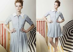 love this 50s diner waitress look