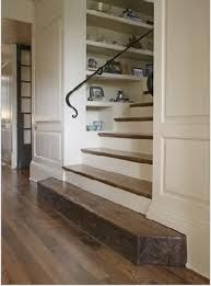 Great solution for my mudroom stair