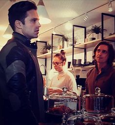 I would be staring at him like the dude behind the counter...