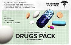 DCandies Drug Renders