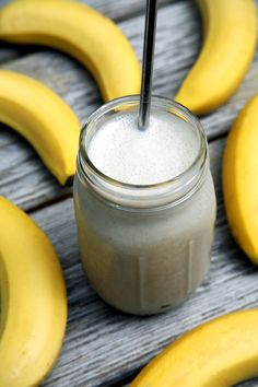 If you're weirded out by protein powder and you also don't eat dairy, you'll love this high-protein banana milkshake smoothie recipe made with white beans. It's just four ingredients total and offers 20.3 grams of protein for just 335 calories.