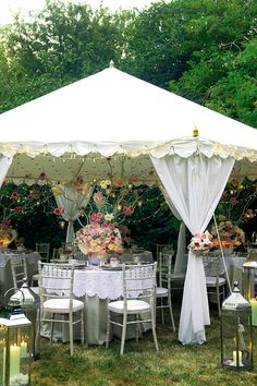 Stylish wedding reception lighting ideas, for both indoor and outdoor spaces, from Brides Magazine (BridesMagazine.co.uk)