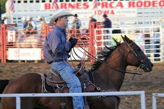 Rodeo | Joshua Hunt | Image source: onlyinyourstate.com Rodeo Time, Iowa, Horses, Sports, Animals, Image, Hs Sports, Animales, Animaux