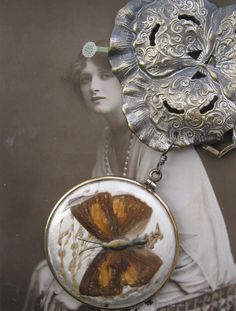 wings and things . necklace by BaciRubati on Etsy, $302.00