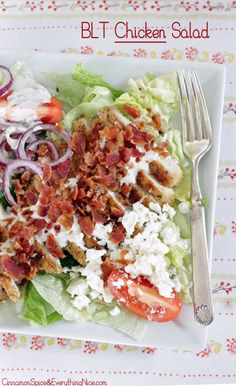 Bacon Lettuce & Tomato Chicken Salad