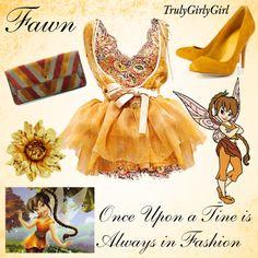 Disney Style: Fawn, created by trulygirlygirl Disney Outfits, Disney Character Outfits, Character Inspired Outfits, Disney Dresses, Disney Clothes, Disney Costumes, Disney Prom, Disney Girls, Disney Inspired Fashion