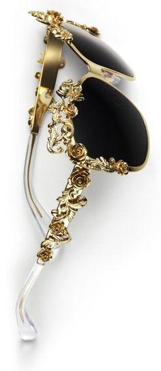 ☮ American Hippie Bohemian Style ~ Boho Sunglasses - Dolce & Gabbana