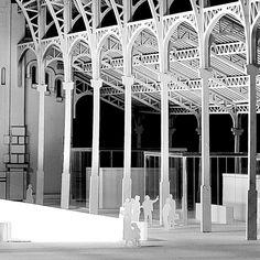 Mercado de Colón [3/4] #Arquiayuda #architecturemodel #maquetaarquitectura #architecture #arquitectura #archilovers #lasercut #cortelaser #maquetasvalencia #architecturestudent #design #handmade #art #think #build #architecturedetail #conXdeXirivella #workhard and be #nice to #people by arquiayuda