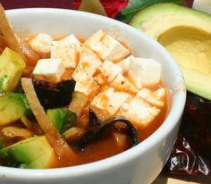 Receta de SOPA DE TORTILLA MUY MEXICANA en Cheeef - Organiza y comparte tus recetas de cocina