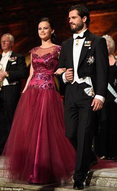 Sofia Hellqvist and Prince Carl Philip of Sweden