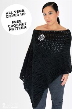 All Year Cover Up - FREE Crochet Pattern — Stitch & Hustle