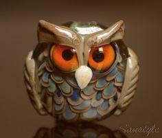 Glass Animals, Owls, Glass Beads, Lion Sculpture, Statue, Art, Art Background, Kunst, Owl
