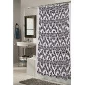 Found it at Wayfair - Regal Polyester Fabric Shower Curtain with Flocking