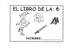 Fichas de la e Teacher, Signs, Mcqueen, Spanish, Ideas, 1st Grades, Writing, Kids, Professor