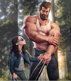 "7,961 Likes, 14 Comments - Instagram Fitness Motivation (@fitness.union) on Instagram: ""Logan and Laura. #wolverine . @thehughjackman Via @silverjow"""