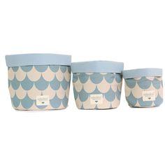 Storage  .  Basket  .  Mambo / Blue Scales