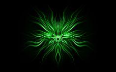 Abstract Marijuana Weed Leaf HD