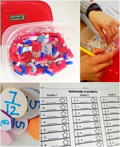 This Fraction Treasure Hunt gives students a fun and hands-on way to practice reducing, changing improper fractions to mixed numbers, and changing fractions to decimals.
