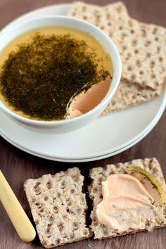 Mousse de salmón para untar. blog cocina para emancipados.