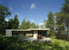 Island House, Archipelago of Stockholm, Sweden | by Arkitektstudio Widjedal Racki