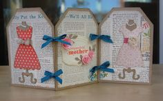 Julie's Japes - An Independent Stampin' Up! Demonstrator in the UK: Mother's Day Dress Up!