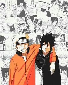 Naruto and Sasuke - Bromance