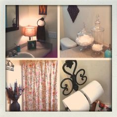 Bathroom! #organized #decorations