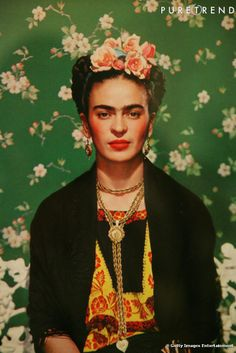 The one  the only  FRIDA KAHLO <3 ! April 19, 2017.