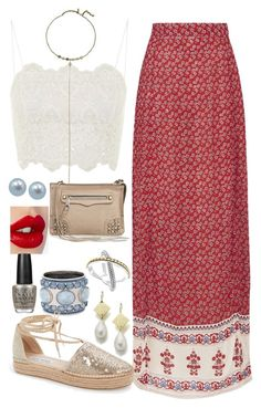 """""""Untitled #177"""" by bubbles6706 ❤ liked on Polyvore featuring Chico's, Charlotte Tilbury, Topshop, Vanessa Mooney, Steve Madden, Rebecca Minkoff, Lagos, OPI and Honora"""