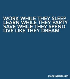 Work while they sleep...
