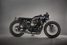 Old School Engineering CB750 K2 ~ Return of the Cafe Racers