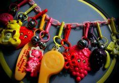 80's charm bracelets
