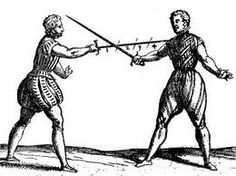 old drawings sword fighting - Google Search